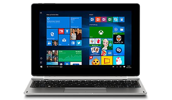 "[Medion] MEDION® AKOYA® E1239T (MD 60254)  Intel® Atom™ x5-Z8350 Prozessor, Windows 10 Home, Intel® HD-Grafik, 64GB Flash, 2GB RAM, WLAN mit Bluetooth 4.1, 25,7cm/10,1""Display"