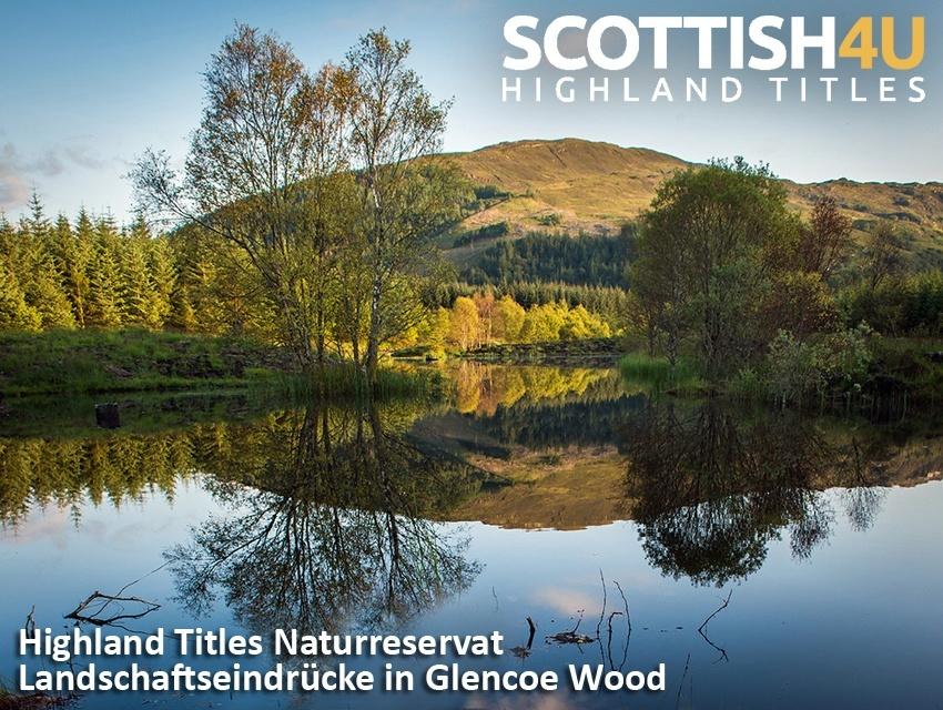 Grundstück in Schottland + Titel Lord/Lady of Glencore