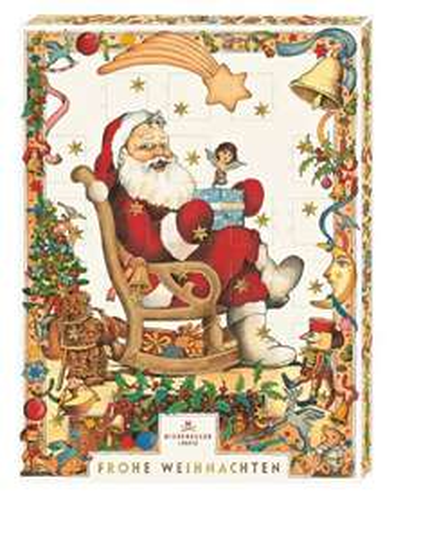 "Amazon Prime : Niederegger Adventskalender Motiv ""Weihnachtsmann"", 1er Pack (1 x 500 g) Nur 11,44 € statt 20,90 €"