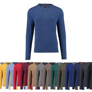 Tommy Hilfiger Baumwoll/Kashmir-Pullover in vielen Farben für 54,90€ inkl. Versand bei engelhorn sports auf ebay