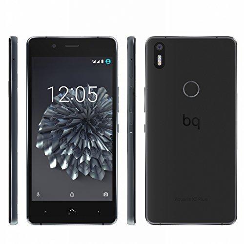 "[Amazon Prime] BQ Aquaris X5 Plus 32GB 3GB RAM Anthrazit/Schwarz (12,7cm (5"") FHD Display, 1,8 GHz Octa-Core Snapdragon 652, 3200mAh, Fingerprint-Sensor, Dual-Sim, Android 7.0 Nougat geplant) für 229,00 €"