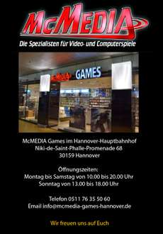 [Lokal Hannover] McMediaGames Call of Duty: Infinite Warfare NEU für PS4 und XBOX ONE je 29,99€
