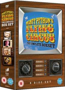 Monty Python's Flying Circus - The Complete Boxset (8 DVDs)