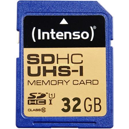 Intenso SD 32GB Speicherkarte 10/45 Secure Digital UHS-I ITO, Class 10 für 8,99 € statt 13,98 €