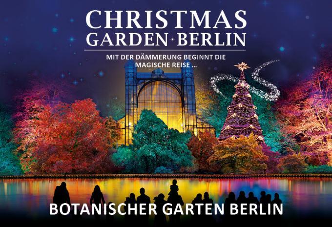 Kostenlose Tickets für den Christmas Garden in Berlin