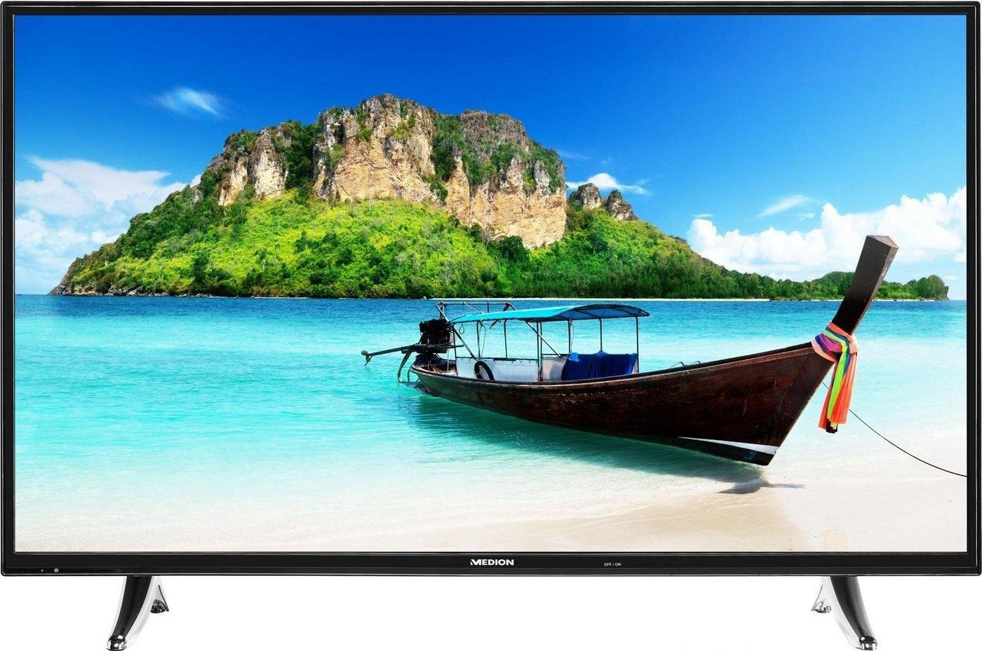 (Update: Geht wieder ) Medion LIFE P18072 (MD 31093) Fernseher 123,2 cm (49 Zoll) Full HD Smart TV mit DVB-T2 HD/-C/-S2, 600 CMP für 310,99 € @ NBB