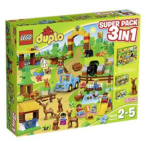 10% Rabatt auf LEGO Duplo bei [real] z.B. 66538 Wildpark Super Pack 3-in-1 für 62,10€ versandkostenfrei statt 78€