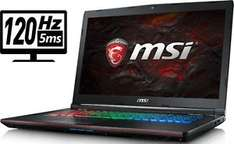 MSI GE72VR-6RF16H11 - Intel Core i7 6700HQ 2,60GHz (Win10/GTX 1060) - 1469€