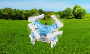 Quadrocopter, 4 Kanal, ferngesteuert für 9,97€ bei druckerzubehoer.de