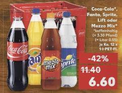 [Kaufland] Bundesweit Kiste Coca-Cola für 6,60, ab Donnerstag 15.12.