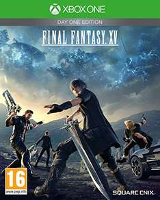 Final Fantasy XV: Day One Edition (PS4 & Xbox One) für 42,38€ inkl. VSK (amazon.co.uk)