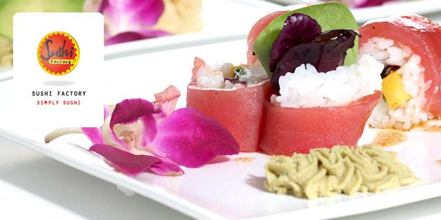 [lokal] 20 EUR für 12 EUR in der Sushi Factory