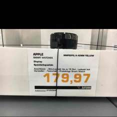 [Regional] Apple Watch MMFE2FD 42MM Saturn Karlsruhe