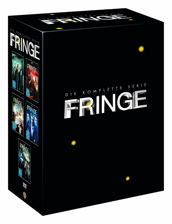 [Amazon] 5€ Rabatt auf viele Serien (MBW 30€), z.B. Fringe - Die komplette Serie (29 DVDs) 30% unter Idealo