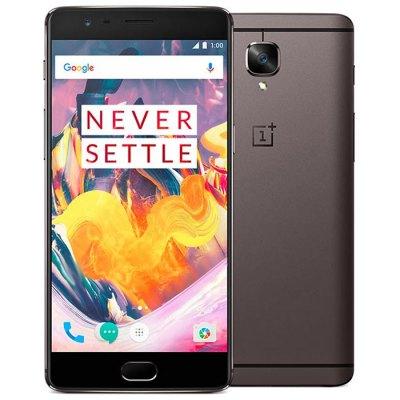 "[Gearbest] OnePlus 3T (5,5"" FHD AMOLED, Snapdragon 821, 6GB RAM, 64GB UFS 2.0, 16MP + 16MP, 3400mAh, USB Typ-C, Dual Sim, Android 6) für 402,11€ (kein Band 20)"