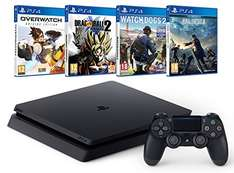 Pack PS4 Slim + Final Fantasy XV + Watch Dogs 2 + Dragon Ball Xenoverse 2 + Overwatch