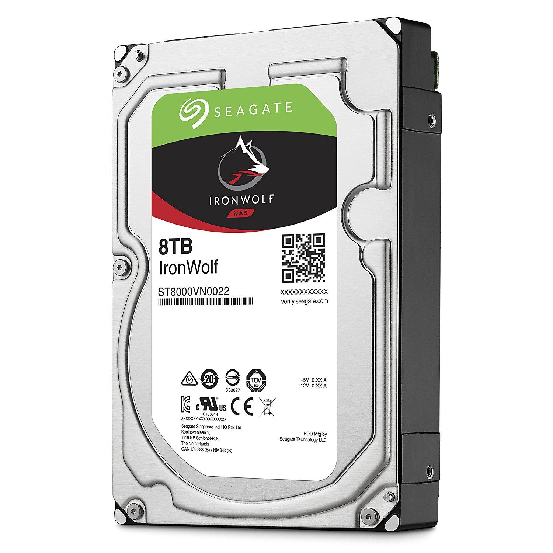 """Seagate IronWolf 8TB (3,5"""") NAS Festplatte für 238,85€ (Amazon.it)"""