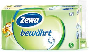 Kaufland - Zewa bewährt Toilettenpapier 8er Packung für 1,19€ ( Angebot+Scondoo)