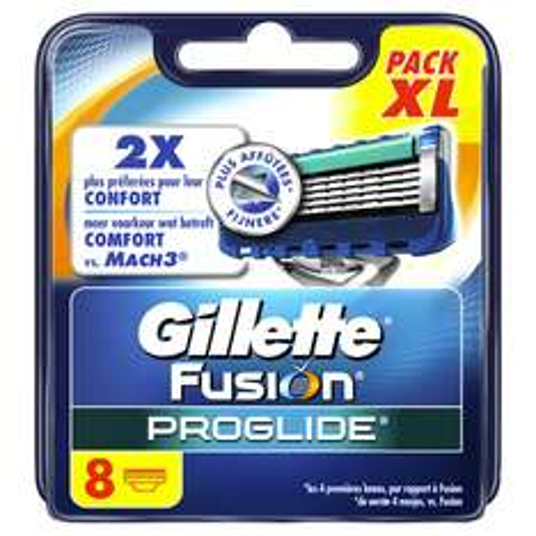 Gillette Fusion ProGlide Rasierklingen 8 Stück im Amazon Sparabo für 16.65€