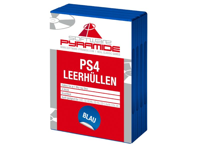PS4 Leerhüllen 4er-Pack - VK-frei bis 19.12. @Saturn.de