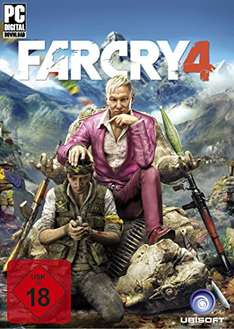 [Amazon.de] Far Cry 4 Standard 8€, Far Cry 4  Gold 14€ [PC Code - Uplay]