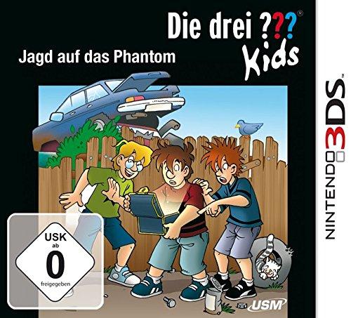 Die drei ??? Kids - Jagd auf das Phantom - Nintendo 3DS