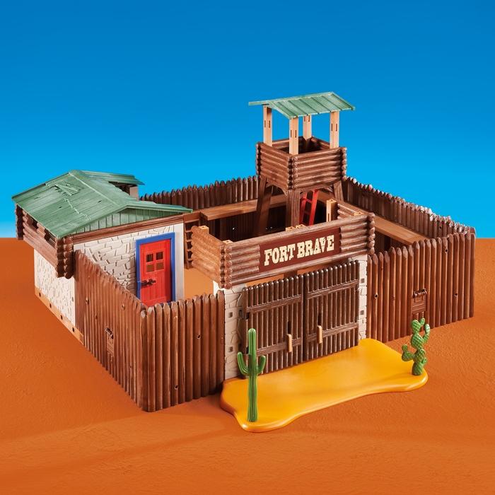 Aktion aus dem Adventskalender: 15 € Rabatt; z.B. das gr. Western-Fort + Sheriff für 47,28 € inkl. Versand [playmobil.de]