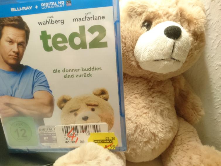 Lokal Hamburg: Ted 2 als Bluray zum Donnerpreis