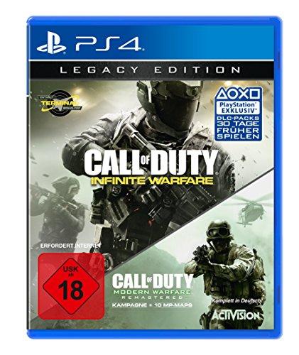 [GameStop] Call of Duty Infinite Warfare Legacy Edition inkl. Modern Warfare Remastered für 21€ + 1 Spiel von der Eintauschliste