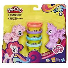 Amazon Plus Produkt Hasbro Play-Doh B0010EU6 - My Little Pony Knetstempel, Knete