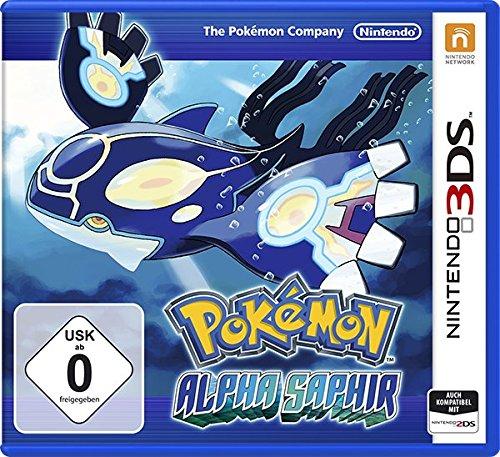 Pokemon Alpha Saphir/Omega Rubin 3DS 29,99€ [Amazon]