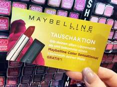 [BUDNI] Maybelline New York Lippenstift Tauschaktion