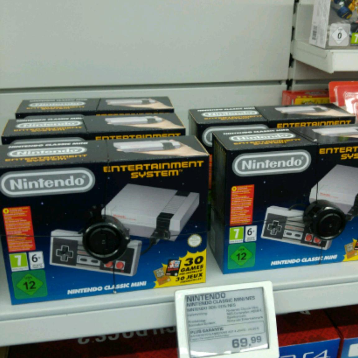 [Saturn-Reinickendorf] Nintendo Classic Mini