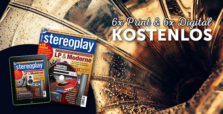 """[MagClub]  """"stereoplay"""" Halbjahresabo gratis als Digital- und Printausgabe"""