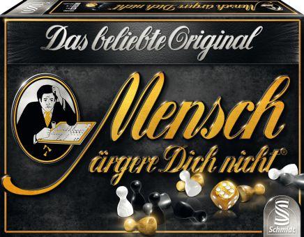 [mifus.de] 25% Rabatt auf Schmidt Spiele - z.B. Mensch ärgere dich nicht - Black Jubiläums Edition für 9,79€ + 2,95€ VSK