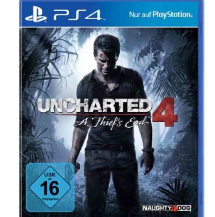 GameStop ab 14.12 Uncharted 4 als Disc für 19,96€
