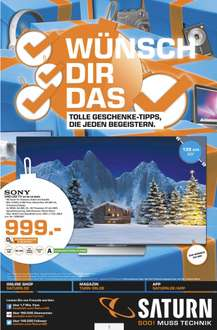 [Lokal Saturn Kiel] Sony 55XD8505 4K Android LED TV