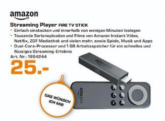 [Lokal Saturn Trier] Amazon Fire TV Stick für 25,-€