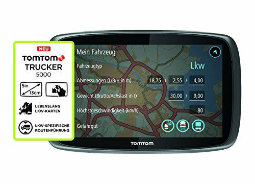 [Amazon] TomTom Trucker 5000 LKW-Navigationsgerät, auch für Camper interessant. 229€ statt 269€