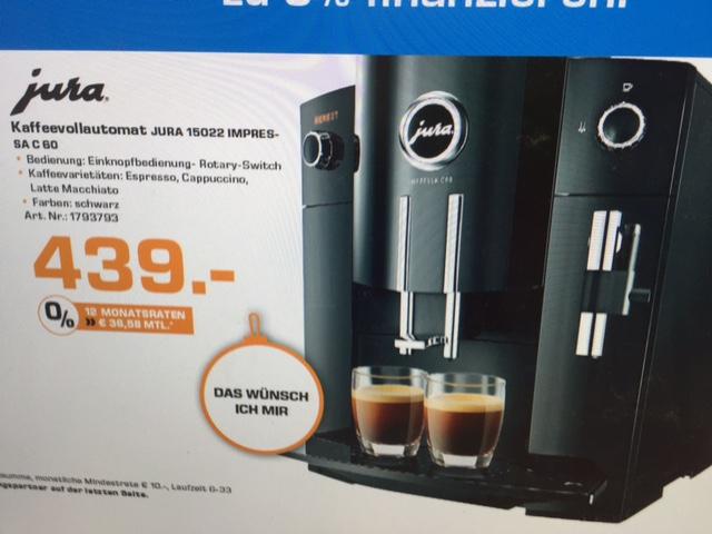 Jura Kaffeevollautomat Impressa C60