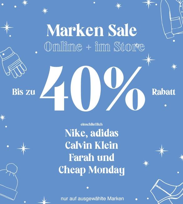 Großer Markensale bei Urban Outfitters: bis zu 40% Rabatt