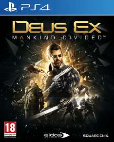 Deus Ex: Mankind Divided Day One Edition (PS4) für 22,54€ Inkl. VSK (Base.com)