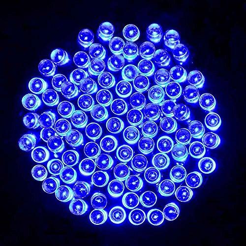 Outdoor Lichterkette mit 200 LEDs auf 15,60m mit Batterie ab 11,99