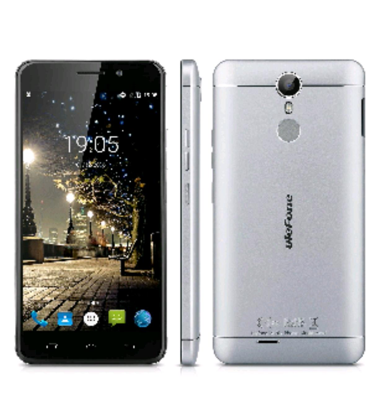 Ulefone Metal 5.0 Zoll 4G-LTE-Smartphone Android 6.0 Octa Core Dual SIM Handy ohne Vertrag 3GB RAM+16GB ROM 8.0MP + 2.0MP Front Dual Kamera Smart Wake Touch ID 3050mAh
