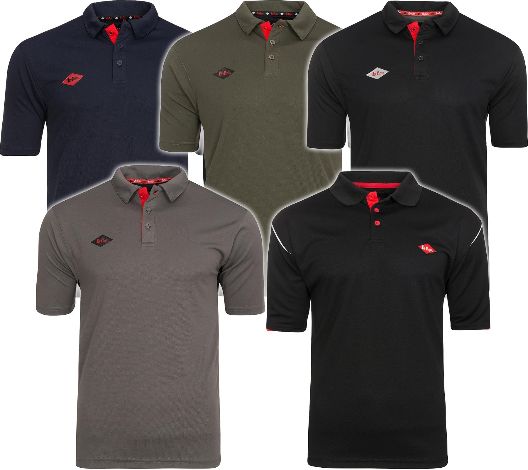 [Outlet46] Lee Cooper Performance Workwear Herren Poloshirts für 9,99€