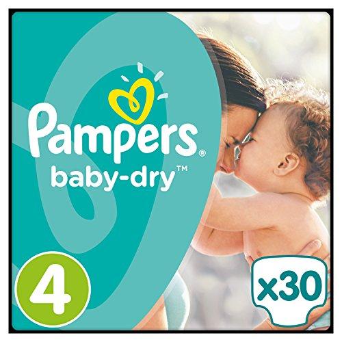 4x 30 Pampers Baby Dry Größe 4 für 19,26€ mit [Amazon Prime] = 16 Cent pro Windel