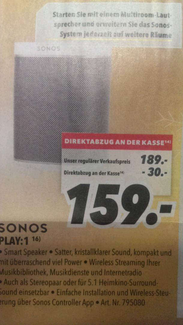 [Medimax (lokal?)] Sonos Play 1 für 159€