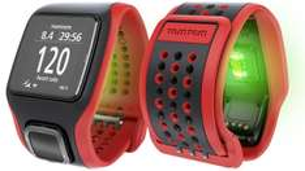 TomTom Multisport GPS Cardio - Gute Sportuhr mit optischem Herzfrequenzmesser und GPS Fix