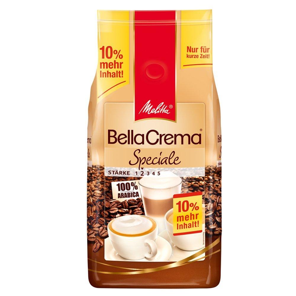[Amazon] Melitta Kaffeebohnen, Arabica, BellaCrema Speciale, 7,33€ / Kg [Sparabo]