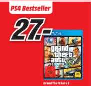 [Lokal Mediamarkt Trier] Grand Theft Auto 5 (GTA 5) für Playstation 4 für 27,-€